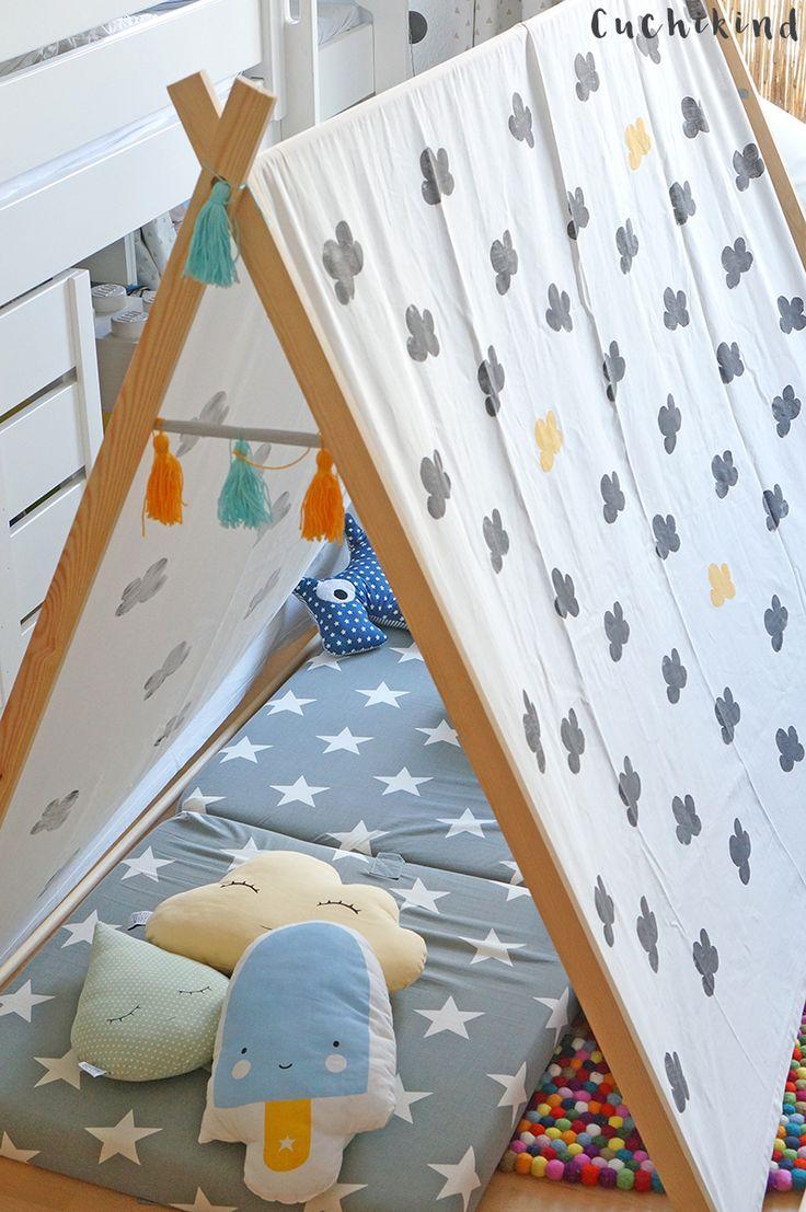 Kinderzelt selber bauen – Anleitung zum Nachmachen