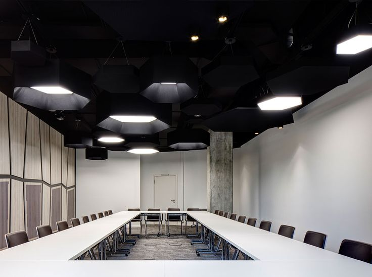 Hex-O by XAL Suspended Acoustic modules integrated with Lighting & 23 best XAL lightning images on Pinterest | Lightning Office ... azcodes.com