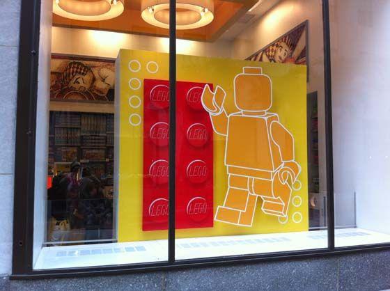 Lego a sa boutique à New York !