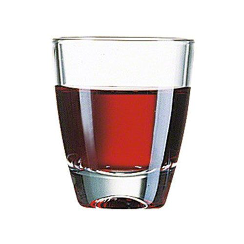 Cardinal (00016) - 1 oz Tumbler Short Glass   FoodServiceWarehouse.com