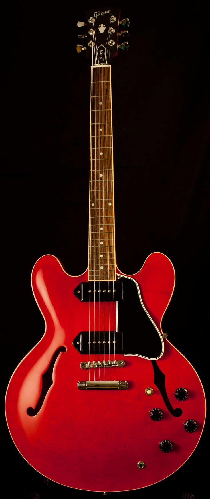 Gibson ES-335 with P90s