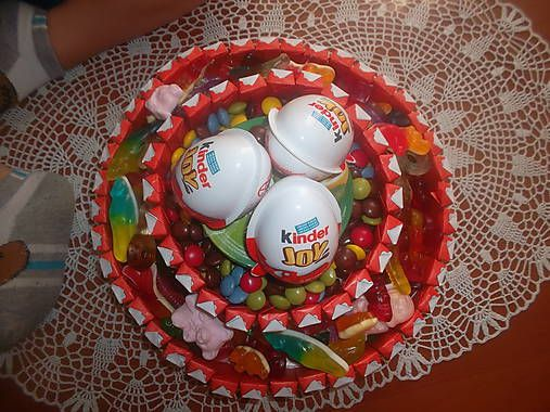 MelinetDecorCrochet / Kinder torta