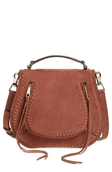 Rebecca Minkoff 'Vanity' Saddle Bag $170 off - also comes in black! #nsale #nordstrom #fallfashion