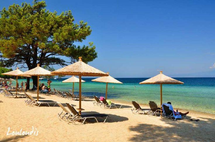 Louloudis Beach, Thassos
