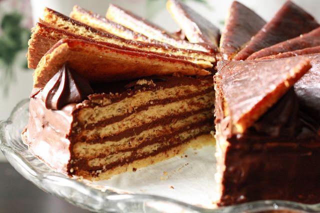 Veselé Borůvky: Cukrářské poklady: Dobošový dort - bez lepku a bez cukru