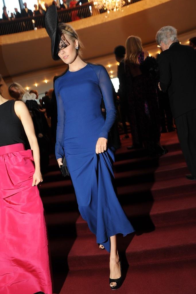 Maggie Grace at The Metropolitan Opera Opening Night Gala - September 2012.