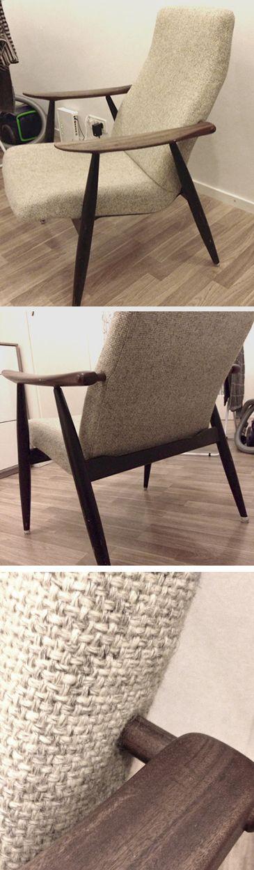 lepotuoli Marjatta (mallinumero 2461), jonka on suunnitellut Ilmari Lappalainen vuonna 1959.