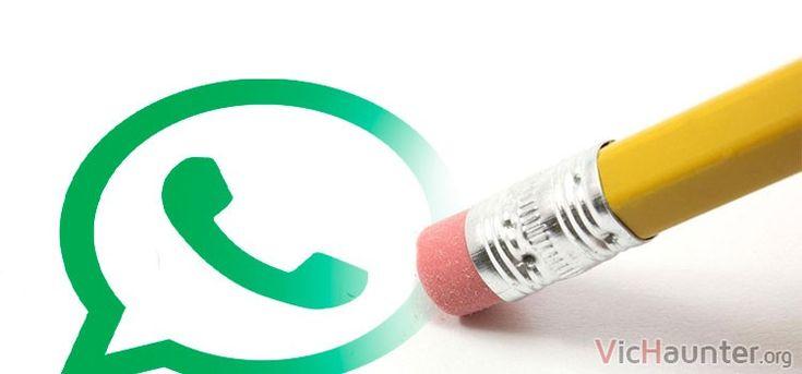 Borrar mensajes enviados de Whatsapp por fín será posible -  Desde que cayó en manos de Facebook han ido haciendo bastantes cambios en la aplicación. En este caso ya anuncian oficialmente como borrar mensajes en whatsapp es posible. A pesar de que aún no ha sido lanzado por el programa de mensajería el anuncio es directamente de la compañía. A muchos puede que les parezca []  La entrada Borrar mensajes enviados de Whatsapp por fín será posible aparece primero en VicHaunter.org.
