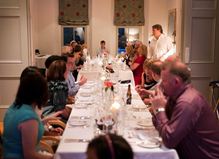 Share cosy mealtimes with family or friends.