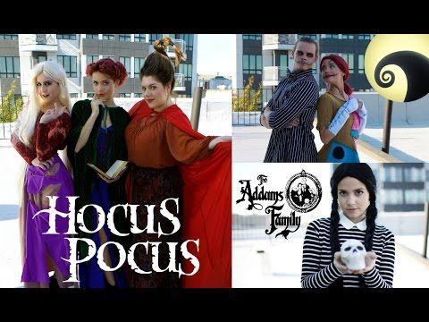 Tess Christine - 3 Classic Halloween Movie Character Costume Ideas! - YouTube