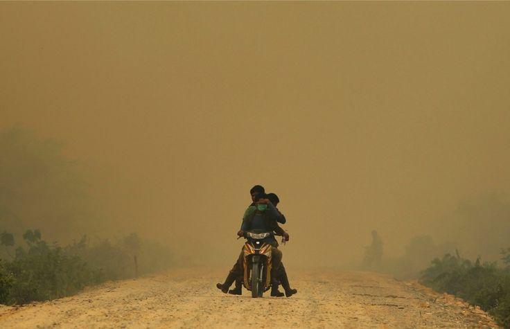 Smog in Dumai, Riau. June 21 2013