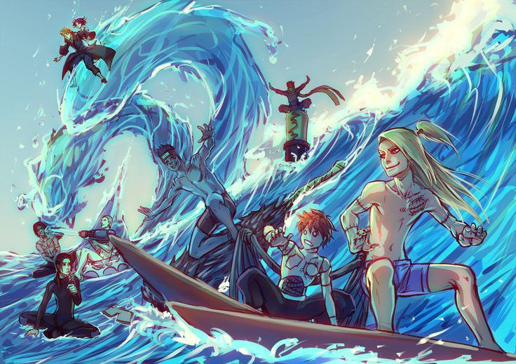 Naruto - Deidara, Sasori, Kisame, Tobi, Itachi, Hidan ...