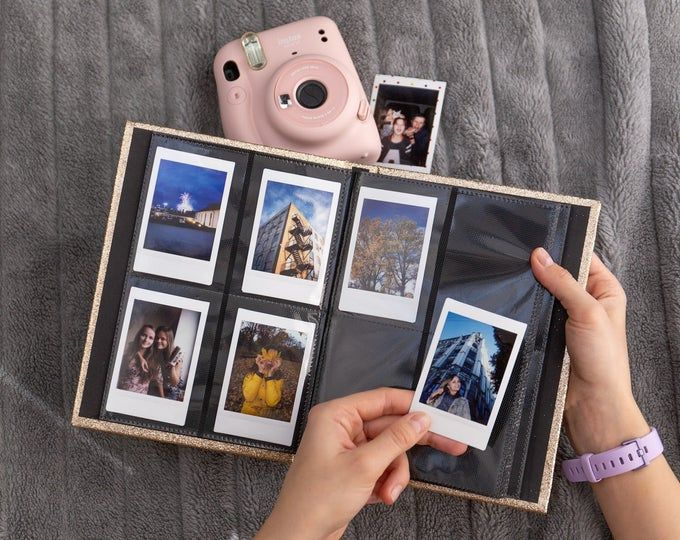 4colors Instax Mini Photo Album Photo Album  Instax mini 8  Photo Book  Photo Frame  Photo Holder  Scrapbook  Baby Album Scrapbook