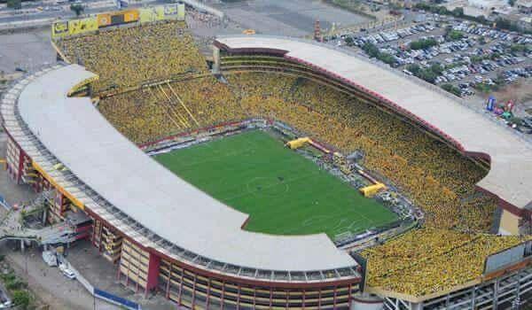 Estadio del Barcelona de Guayaquil, Ecuador