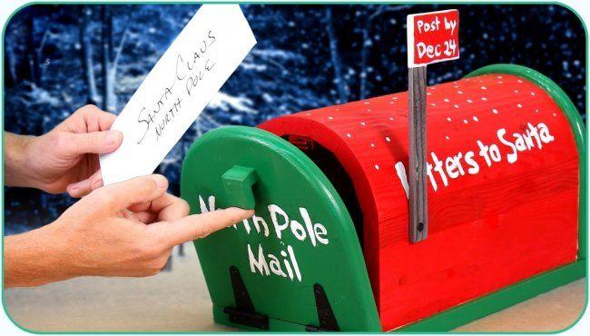 Деревянный почтовый ящик с эмблемой на стене дома в г.Чешский ... | 370x650