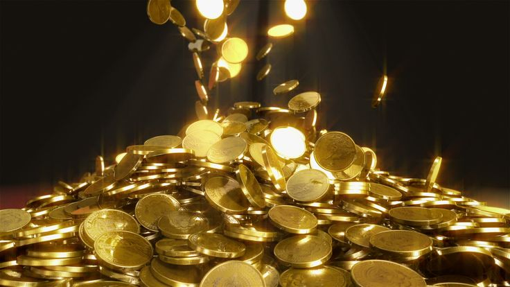 Falling Gold Coins Coinsplosion Pinterest Coins