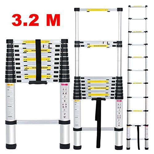 finether 3.2 m Telescopic Ladder EN131 Certified 11 Steps... https://www.amazon.co.uk/dp/B01EL6JWQ6/ref=cm_sw_r_pi_dp_x_JhnqybGQ2B0WA