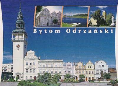 Pocztówkowe podróże po Polsce: BYTOM ODRZAŃSKI