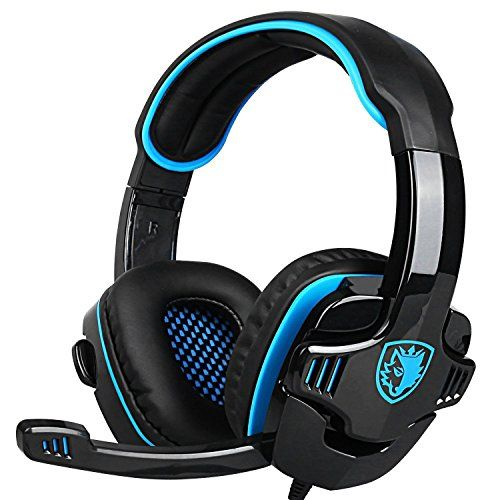 Discounted SADES Gaming Headset Headphone For PS4/PC/Laptop/Xbox 360 with Microphone SA-708GT