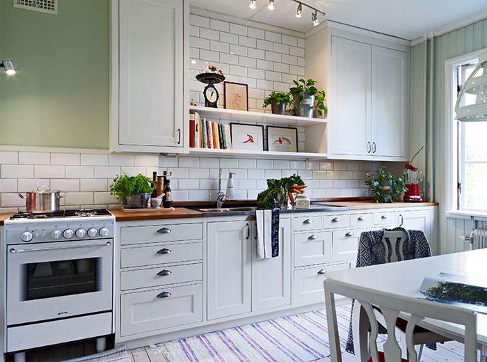 20 charmosas cozinhas escandinavas