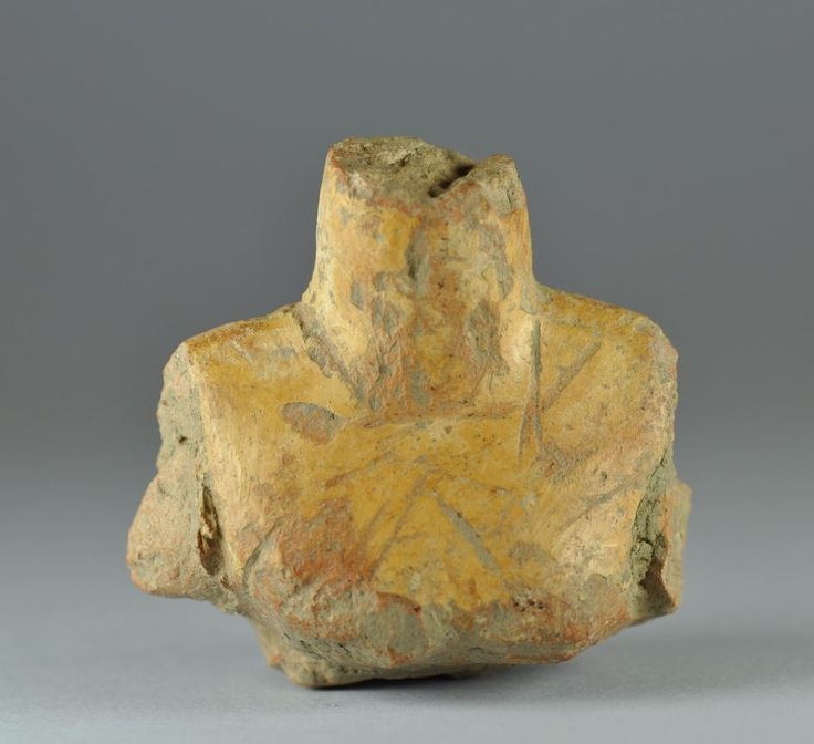 Prehistoric figurines, Thessalian figurine, Thessalian prehistoric  figurine, 5th-4th millenium B.C.  Prehistoric figurines, Thessalian figurine, Thessalian prehistoric  figurine, 6,7 cm high. Private collection