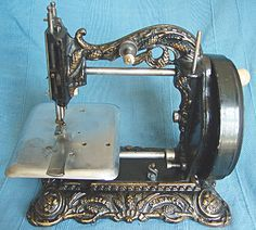 Lion treadle sewing machine circa 1870, made by the Morton Company of Scotland - Google Search