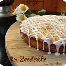 Seedcake Recipe, from The Hobbit. via The Shire Cookbook - Could attempt w/ coconut oil, GF flour and honey...