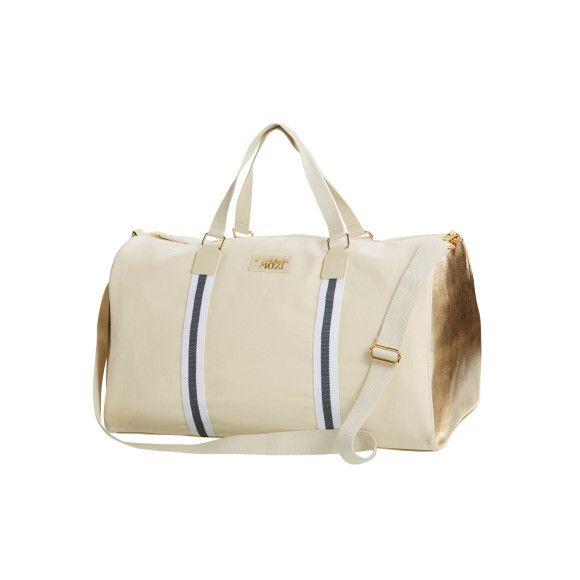 Gold barrel bag | hardtofind.
