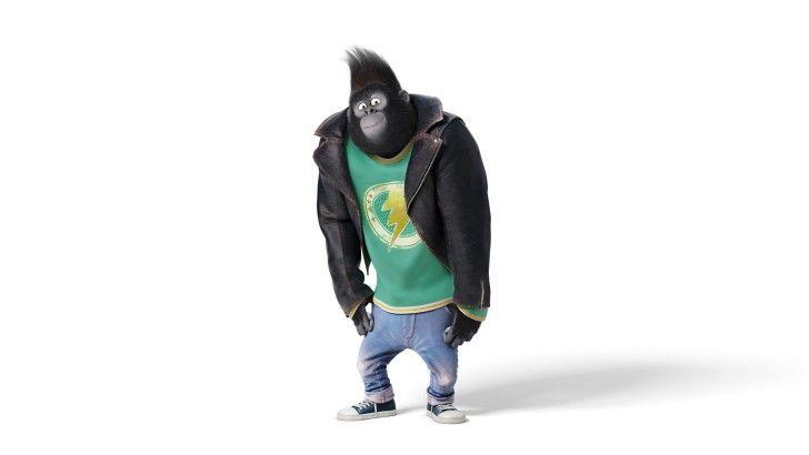 Sing 2016 Johnny Movie Gorilla Wallpaper