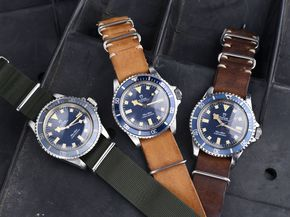 The Tudor MN Blue Snowflake is one of the most sought after military watches in the world...and we have three to show you!