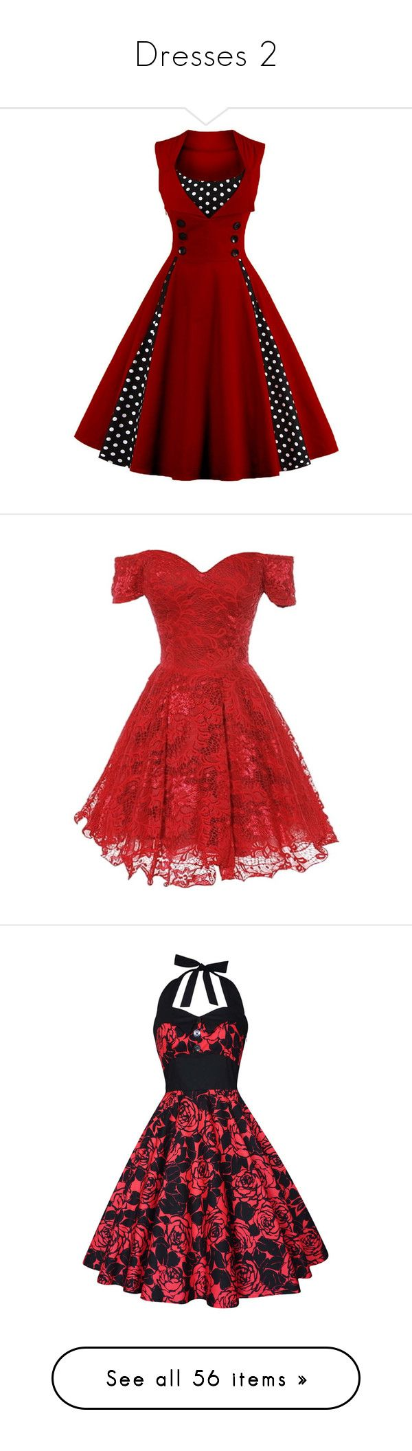 """Dresses 2"" by frankie-and-gee ❤ liked on Polyvore featuring dresses, red corset dress, dot dress, red polka dot corset, red retro dress, polka dot corset, short dresses, vestidos, lace mini dress and red cocktail dress"
