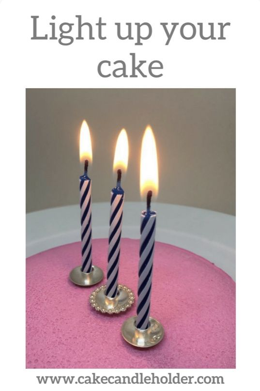 Cake Candle Holders In Sterling Silver Available From 24 Euro