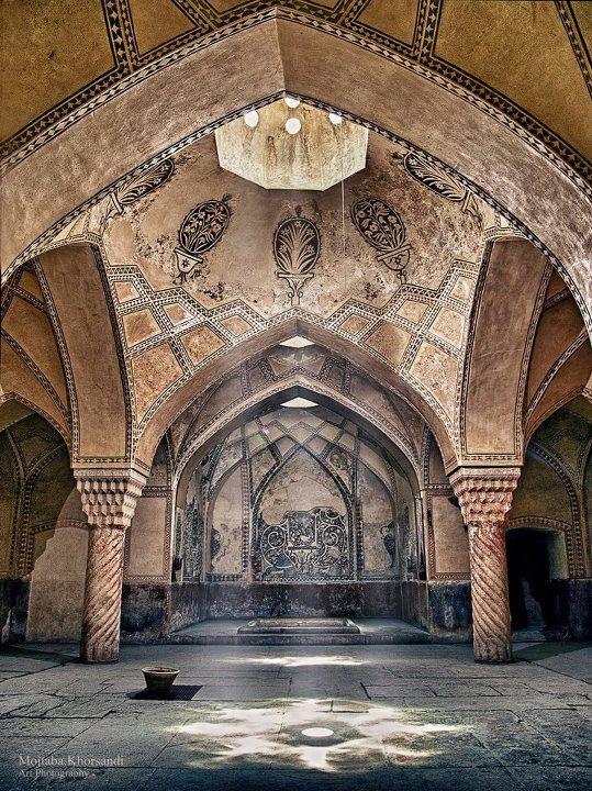 ♥ Hammam Vakil (Bathroom) - Shiraz, IRAN - Mojtaba Khorsandi [paisley accents.  they're there if you look for it!]