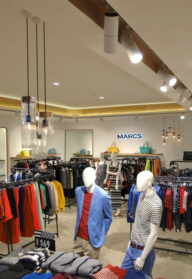 New lighting made with Ambience Lighting for Marcs in Doncaster.