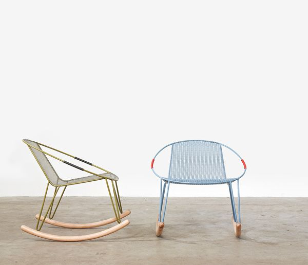 Volley outdoor chairs designed by Adam Goodrum for Tait.