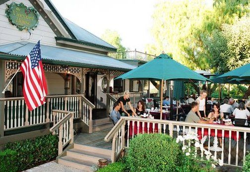 Enjoy a great lunch and Santa Barbara wine at The Vineyard House Restaurant! It occupies a Victorian home dating back to 1907.