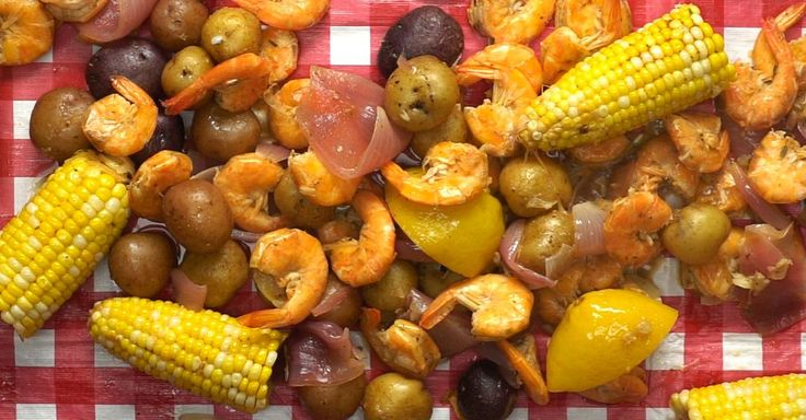 Early summer, late spring is the perfect time to get your friends and family together and have a shrimp boil in the backyard. You can feed a mob with this recipe with breaking a sweat or compromising yumminess!This recipe will give you a whole meal in a pot,