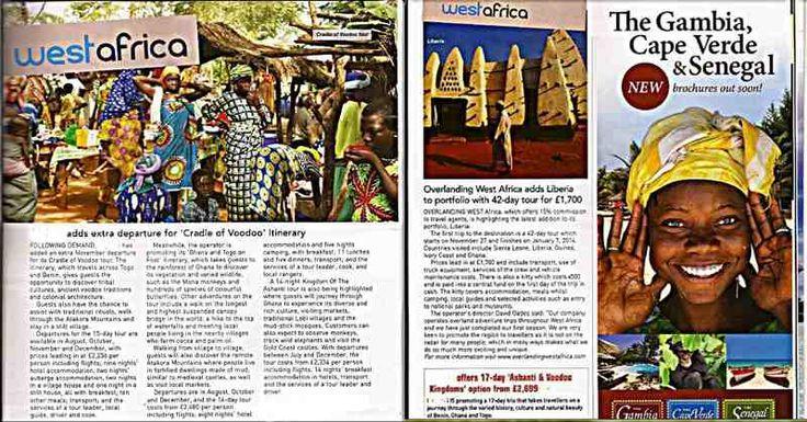 Overlanding West Africa In Travel Bulletin Magazine