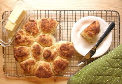 Buttermilk Biscuits ~ Recipe from Cooks Illustrated.  Simple and delicious!