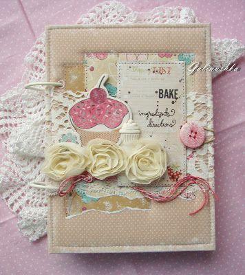 My Soul - творческая мастерская Галины Проценко: Кулинарный блокнот для записи рецептов сладких блюд и выпечки)