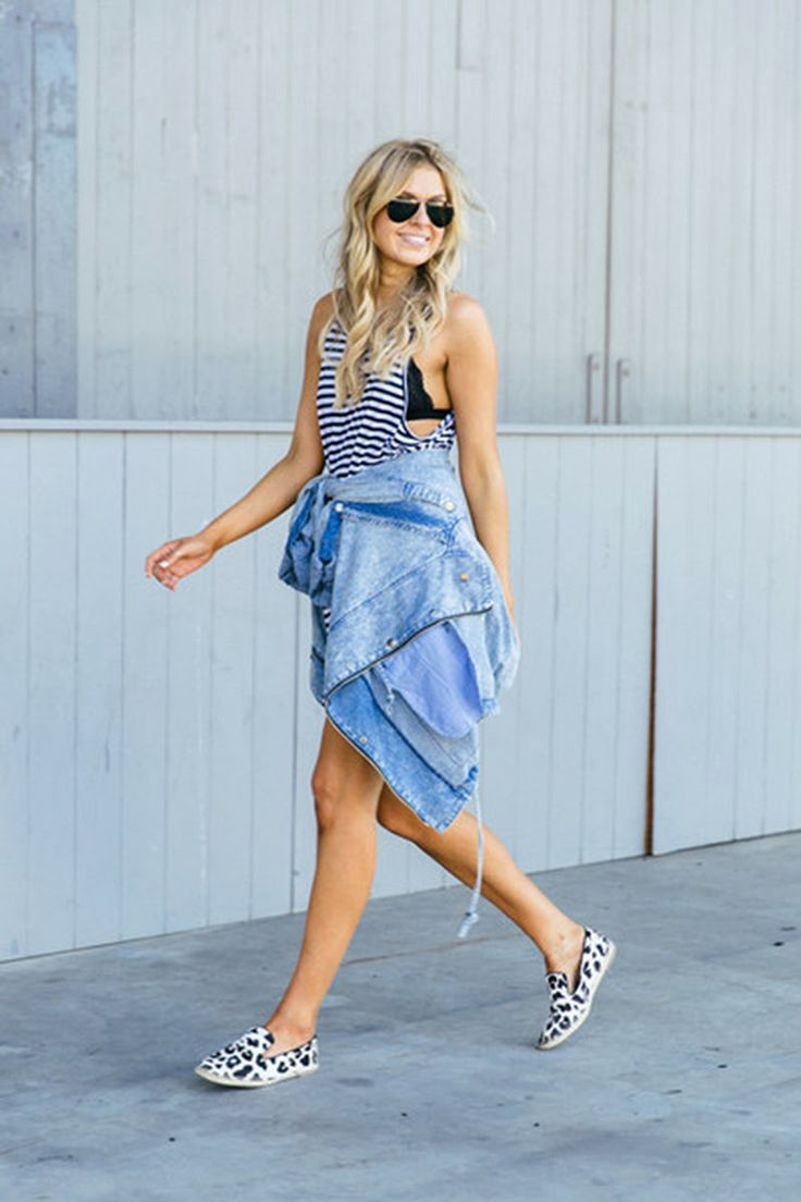 Fashion Girls With Street Style – How To Wear Summer Espadrilles
