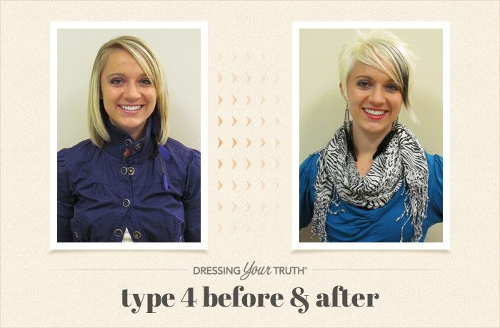 Type 1 Hairstyles: Megan's Bold And Striking Dressing Your Truth Type 4
