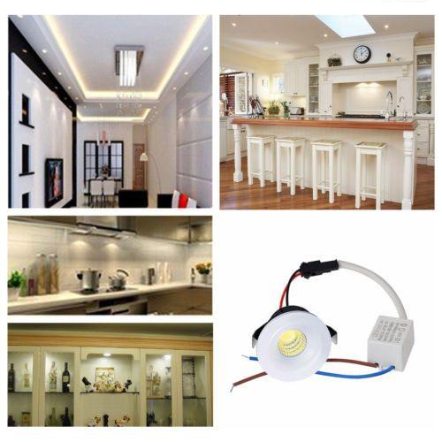 Encastrable 10x 5 Cuisine Plafond Chambre Led Spot Mini Lampe 3w v80OwPynmN