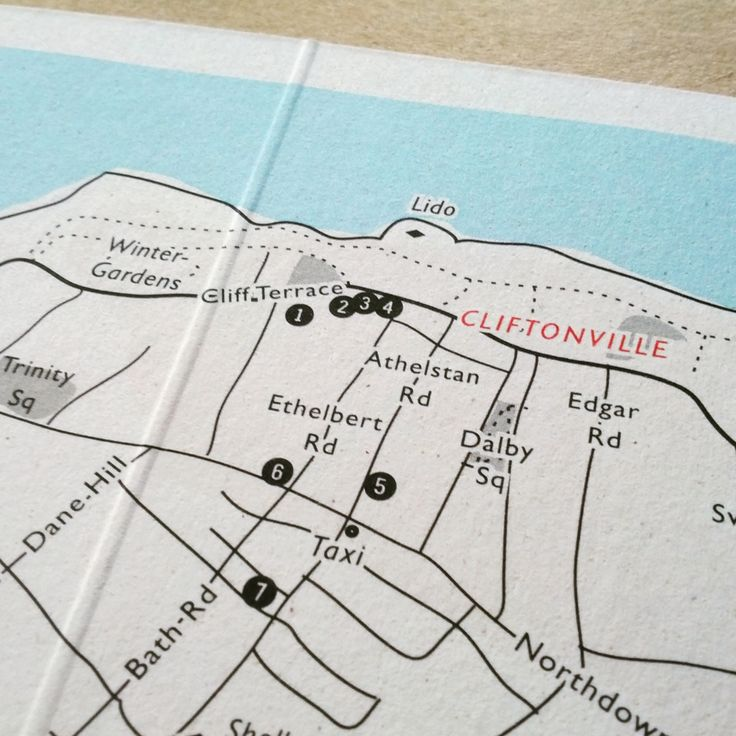 I custom design and print maps! Travel memento map, wedding venue map, local business map. Any size, customised to your project. www.mapletea.co.uk  #weddingmap #travelmemento #travellergift #weddinginspiration #cliftonville #maps #design #print #recycled #graphicdesign #ink #margate #bespokemap #mapletea #karte #hochzeitskarte #mapa
