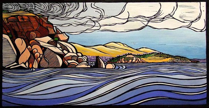 Gail Kellett Past Wright to Granite Island - Victor Harbor