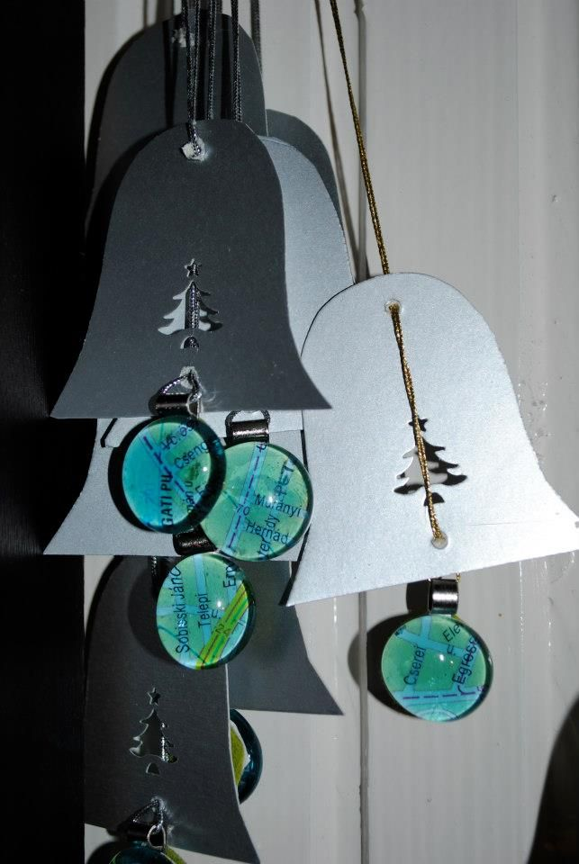 2 in 1: xmas tree hanger and pendant - every littler owner got his own address on the map