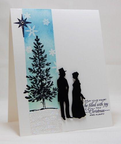 Mama Mo Stamps: A Winter Scene