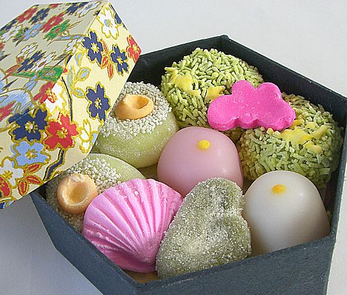 """Japanese sweets """"Wagashi"""""""