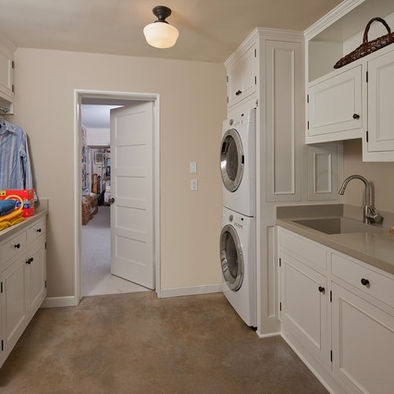 laundry room stacking cabinets design pictures remodel decor and ideas page 2