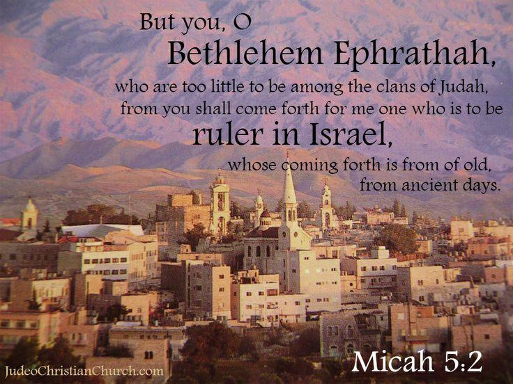 Image result for Micah 5:2
